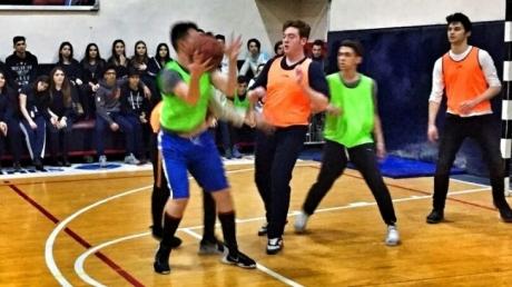 Lise Kademesi Sınıflar Arası Basketbol Turnuvası Yapıldı.