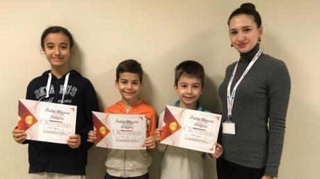 Mavişehir Okyanus Koleji İlkokul Öğrencileri MentalUP Zihinsel Gelişim Programı Ödüllerini Aldılar
