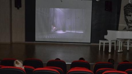 Okul Öncesi Öğrencileri Sinema Saati Yaptı