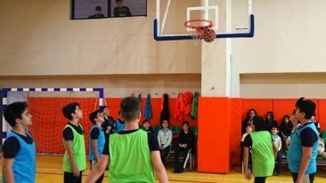 Okyanus Koleji Çekmeköy Kampüsünde Ocak Ayı Boyunca Tüm Kademelerde Basketbol Heyecanı Yaşanıyor