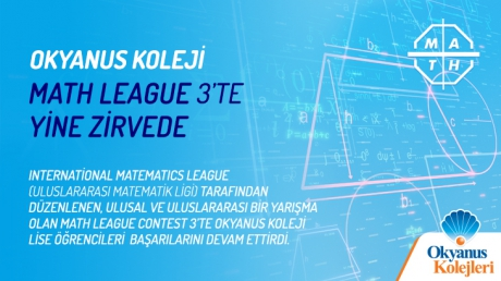 Okyanus Koleji Math League Contest 3'te Yine Zirvede