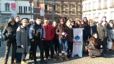 Okyanus Koleji Öğrencileri Avrupa Turunda