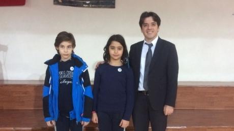 Sancaktepe Okyanus Koleji Ortaokul Kademesi Aralık Ayı 'Bookworm'ları Seçildi