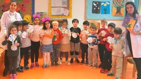 Yıldızlar ve Güneş Sınıfları Bilingual Dersinde