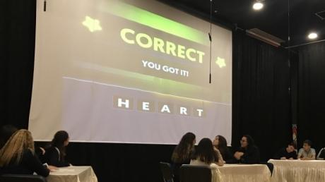 10. Sınıf Öğrencileri İngilizce Kelime Yarışmasında