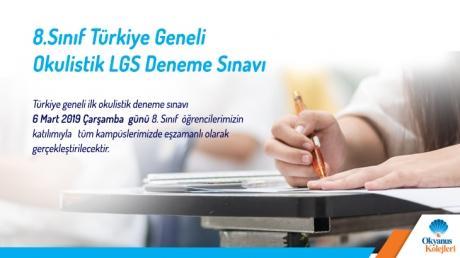 8.Sınıf Türkiye Geneli Okulistik LGS Deneme Sınavı