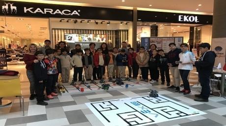 Adana Okyanus Koleji Vex Robotics Kulübü Maker Teknolji Fuarında