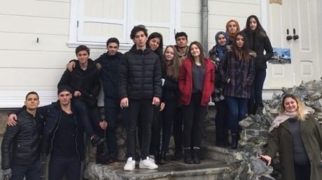 """Okyanus Kolejleri Sancaktepe Kampüsü Lise Kademesinden """"Aşiyan Gezisi"""""""