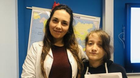 Bahçelievler Okyanus Koleji Ortaokul Kademesi İngilizce Şubat Ayı Writing Stars