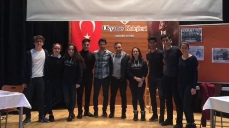 Bahçeşehir Okyanus Koleji Kampüsler Arası Münazara Turnuvası Finalinde!