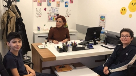 Beykent Okyanus Koleji'nde Speaking Sınavı Düzenlendi.