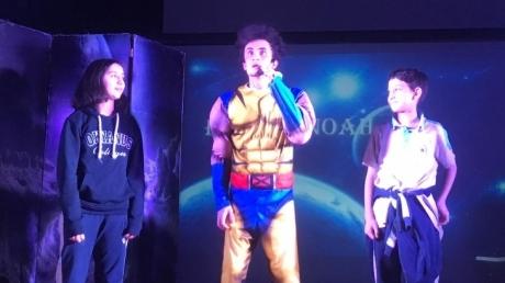 Beykent Okyanus Koleji Ortaokul'da İngilizce Marvel Oyunu Sahnelendi