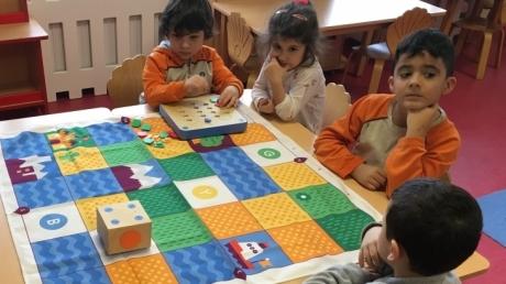 Çekmeköy Okul Öncesi Yıldızlar Grubu Cubetto Etkinliğinde