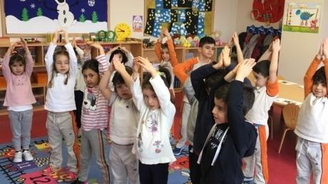 Çekmeköy Okul Öncesi Yıldızlar Grubu Türkçe Etkinliğinde
