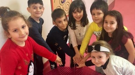 Çekmeköy Okyanus Koleji Gökkuşağı Grubu Öğrencileri Oyun Etkinliğinde