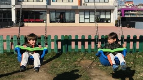 Çekmeköy Okyanus Koleji, Okul Öncesi Çiçekler Grubu Serbest Oyun Etkinliğinde