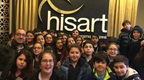 Fatih Okyanus Koleji 6.Sınıf öğrencileri Canlı Tarih Müzesinde