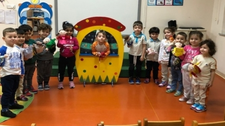 Güneşli Okyanus Koleji Okul Öncesi Rüzgarlar Grubu Türkçe Dil Etkinliğinde