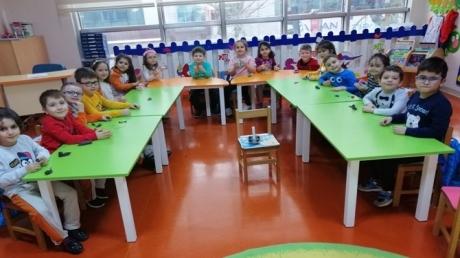 Güneşli Okyanus Koleji Okul Öncesi Yıldızlar Grubu Bütünleştirilmiş Türkçe Dil ve Sanat Etkinliğinde