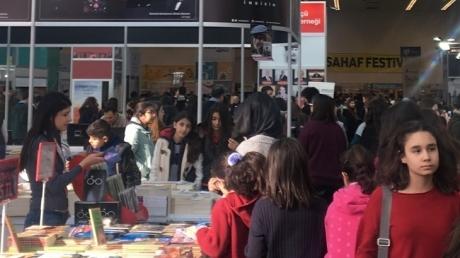 İncek Okyanus Anadolu Lisesi Ankara Kitap Fuarı'nda !