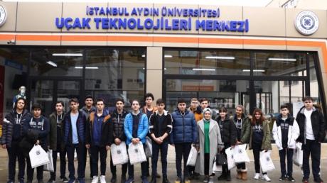 İstanbul Aydın Üniversitesini Gezisi
