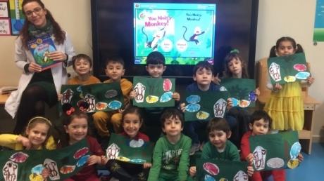 Mavişehir Okyanus Koleji Okul Öncesi Kuşlar Grubu İngilizce Dersinde