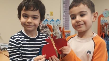 Mavişehir Okyanus Koleji Okul Öncesi Kuşlar Grubu Matematik Etkinliğinde