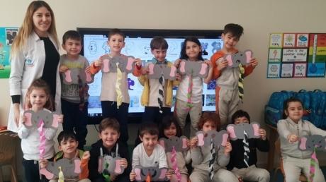 Mavişehir Okyanus Koleji Okul Öncesi Yıldızlar Grubu Sanat Etkinliğinde