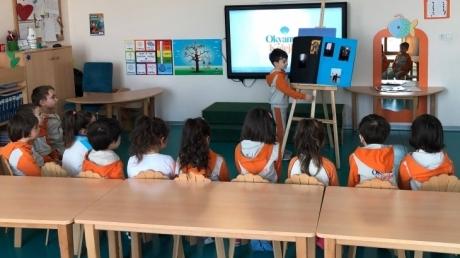 Nilüfer Okyanus Koleji Okul Öncesi Bulutlar Grubu Tatil Projesini Anlatıyor