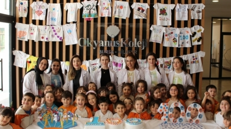 Nilüfer Okyanus Koleji Okul Öncesi Öğrencileri 100.Gün Etkiliğinde
