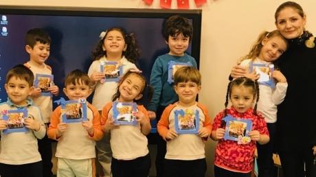 Nilüfer Okyanus Koleji Okul Öncesi Yunuslar Grubu Aile Katılımı Etkinliğinde