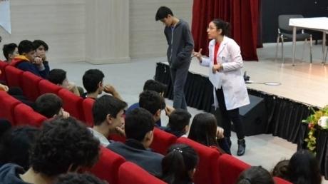 Öğrencilere Sınav Kaygısı Konulu Etkinlik Gerçekleştirildi
