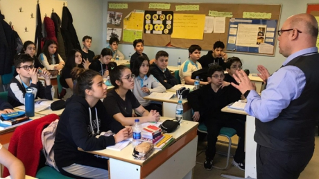 Okyanus Koleji Bahçelievler Şubesi 8.Sınıf Öğrencilerine Lise Tanıtımı Yapıldı