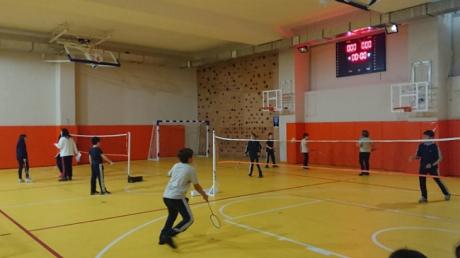 Okyanus Koleji Çekmeköy Kampüsünde Badminton Turnuvası Heyecanı Yaşandı…
