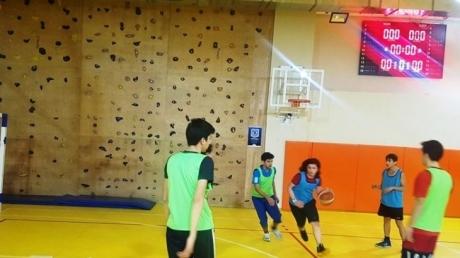 Okyanus Koleji Çekmeköy KampüsündeOcakAyı Boyunca Lise Kademesinde Basketbol Heyecanı Yaşandı…