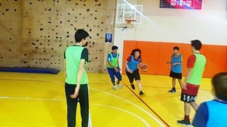 Okyanus Koleji Çekmeköy KampüsündeOcakAyı Boyunca Lise Kademesinde Basketbol Heyecanı Yaşandı