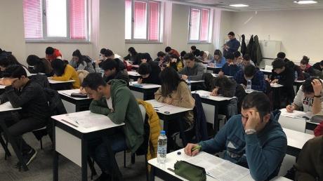 Okyanus Kolejinde Özdebir Türkiye Geneli Deneme Sınavına
