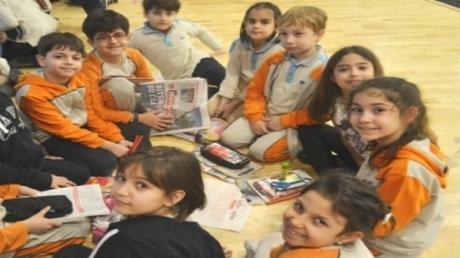 Özel Mavişehir Okyanus İlkokulunda Yazar Etkinliği Yapıldı