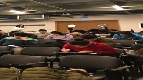 Sancaktepe Okyanus Koleji Lise Son Sınıf Öğrencilerimiz YKS Provasında..
