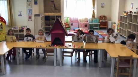 Sancaktepe Okyanus Koleji Okul Öncesi Deniz Yıldızı Grubu Öğrencileri Türkçe Dil Etkinliğinde