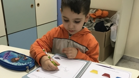 Sancaktepe Okyanus Koleji Okul Öncesi Yıldızlar Grubu Öğrencileri İlkokul Okuma Yazmaya Hazırlık Etkinliğinde