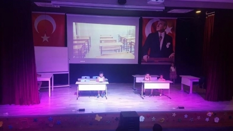 Çekmeköy Okyanus Koleji'nde Düzenlenen Yaz Okulu Drama Gösterisi