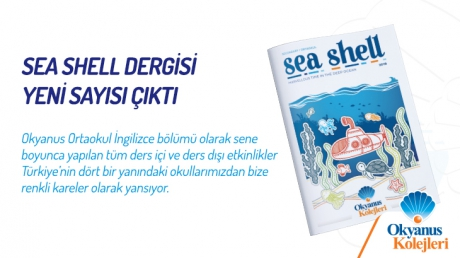 Sea Shell Dergisi 2018-2019 Sayısı Çıktı